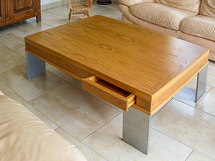 Tables manger tables basses table d ext rieur - Plateau de table chene massif ...
